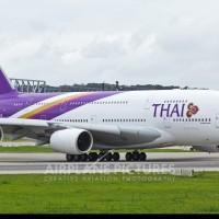 関空 A380 タイ航空