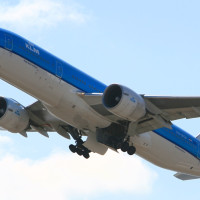 KLM867 関空ーオランダ