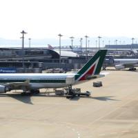関西空港 アリタリア航空