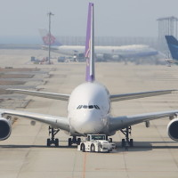 A380 バンコク 関空